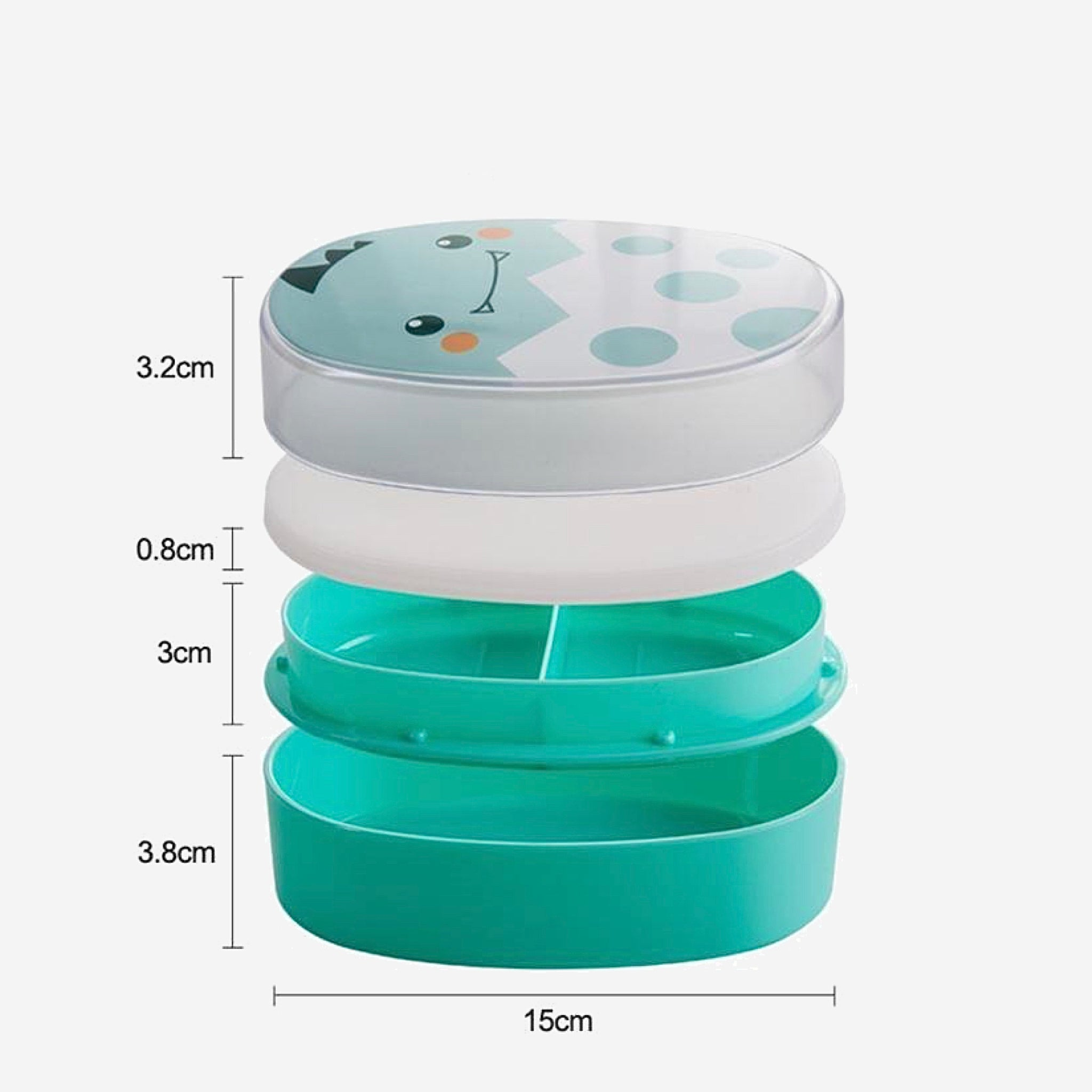 700ml Cartoon Lunch Box Cute Kids Microwave Oven Healthy Bento Boxes BPA Free Lunchbox Size Chart