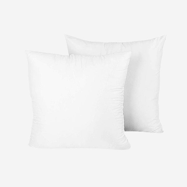 2-Piece Hypoallergenic Pillows 31x31cm Down Substitute Polyester Square Soft Pillow Core Home Textile Trend