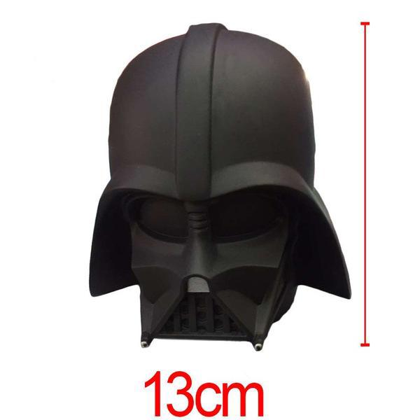 Black 3D Vinyl Darth Vader Stormtrooper Coin Piggy Bank Money Savings Box Coin Piggy Bank Cash Boxes Child Kids Gift Home Decoration Accessories Style Size Chart