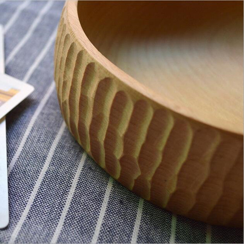 Handmade Wooden Japanese Bowl
