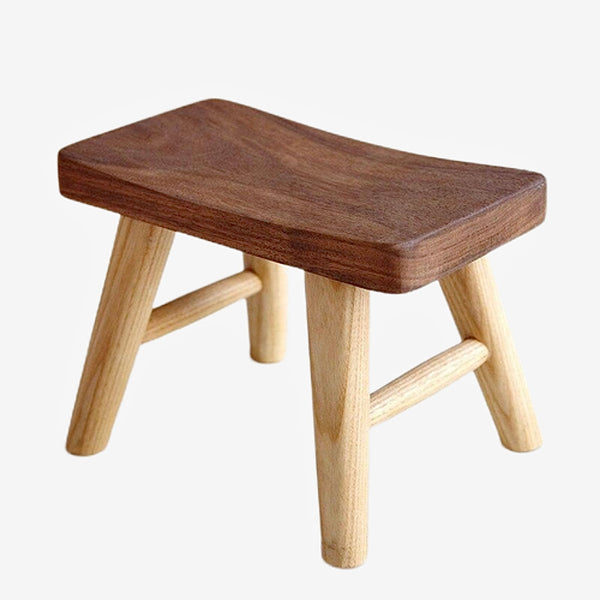Rural Wooden Stool   Surface stool children taboret pure wood bench high chairs Trend