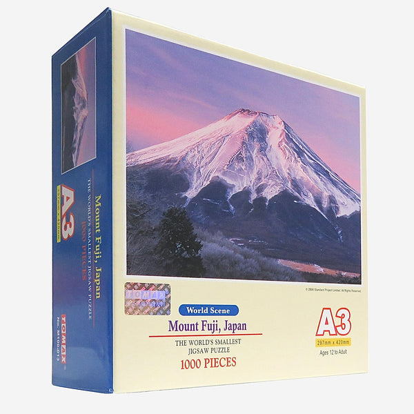 Japanese Mount Fuji Jigsaw Puzzle     Board Game Paper Painting Manual Children Toy Adult Stress Relief Entertainment Toys Gift Trend