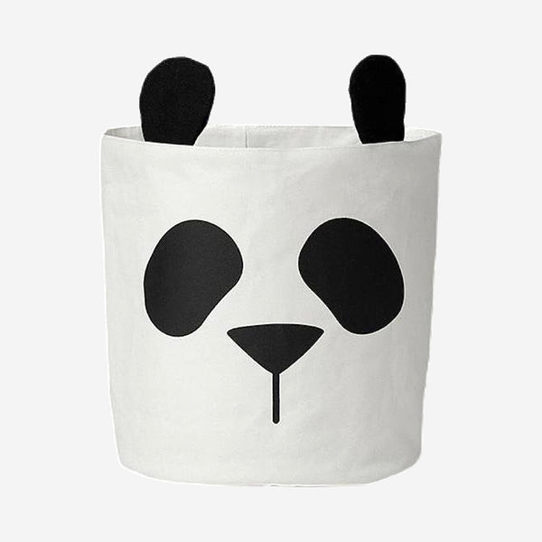 Cute Panda Animal Storage Organizer Basket