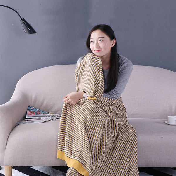 Japanese Cotton Blanket Throws