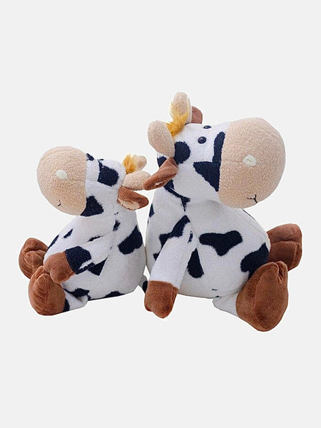 Anime Plush Doll   Cute Cartoon Cow Cattle Plush Stuffed Animal Soft Doll Kids Baby Sleeping Toys Gift for Children, Grownups Trend