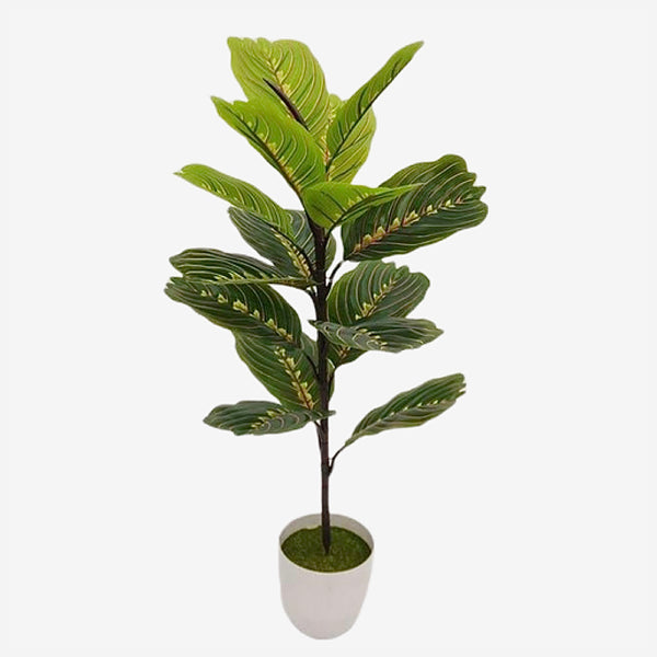 Artificial Potted Plant   70cm 15 Head Artificial Banyan Tree Branching Plastic Tropical Indoor Rare Potted Balcony Garden And Hotel Office Home Decor Trend