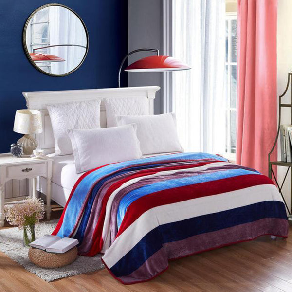 Soft Warm Boston Blanket Throw Trend