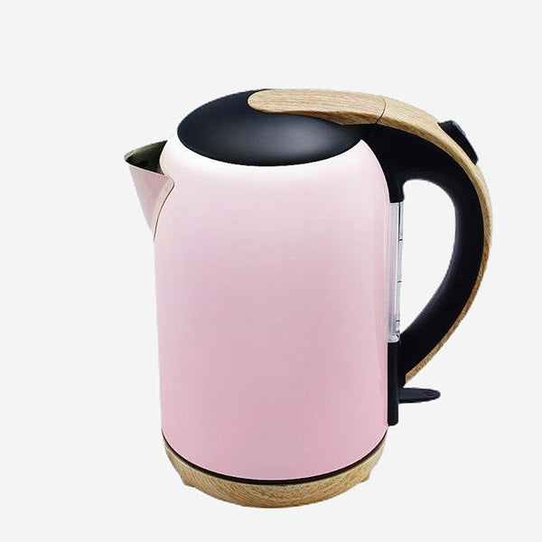 Pink Stainless Steel Electric Kettle Automatic power Safety Auto-Off Function household kettles Trend