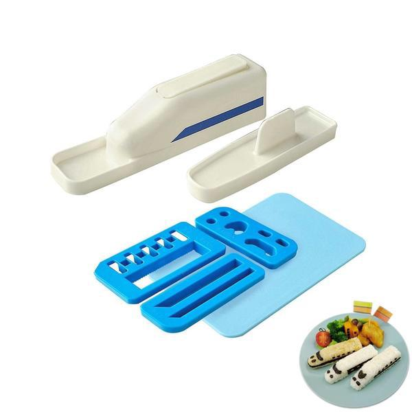 Creative Train Sushi Mold Set Sushi Tools Kitchen Aid Accessories