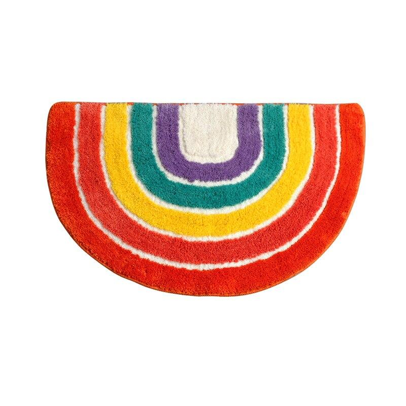 Anti Slip Rainbow Rug