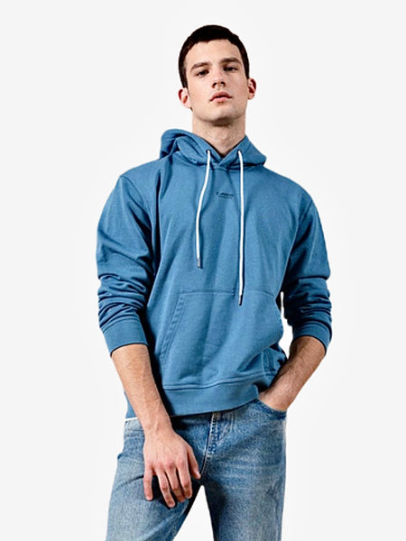 Vintage Soft m:tFit Hoodie  Classic casual lime blue cotton m:tFit jogger tracksuits plus size Men's hooded sweatshirts streetwear sportswear Trend