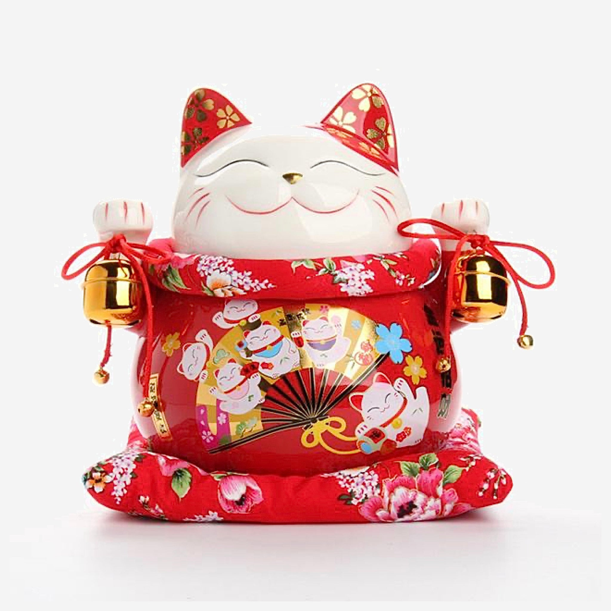 Japanese Good Fortune Lucky Cat Money Bank Trendy