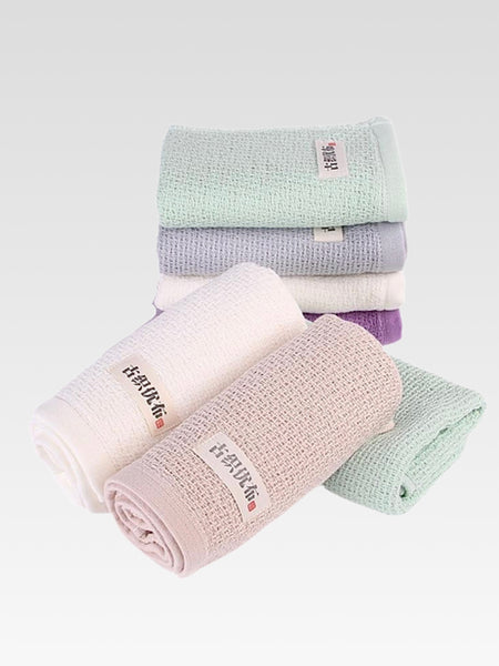 Japanese Honeycomb Soft Cotton Face Towel Trend