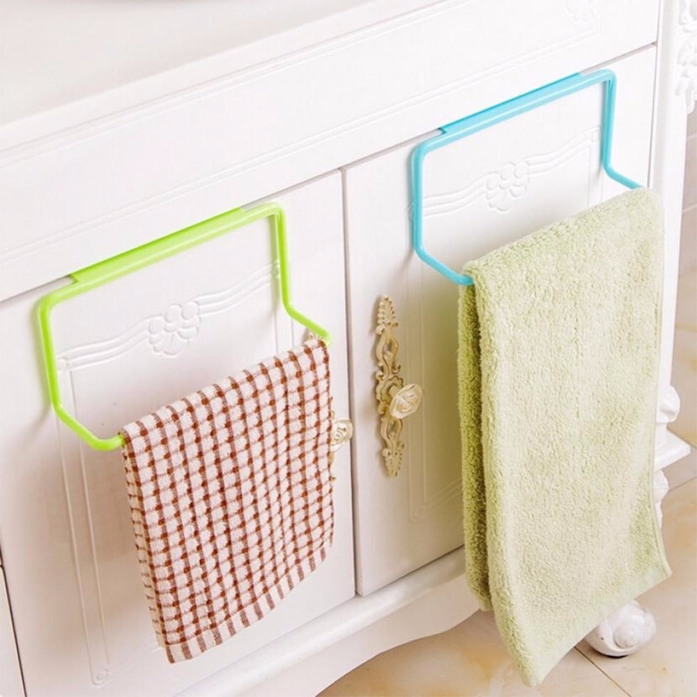 Over Door Hanging Towel Rack Cabinet Holder Hanger Style B