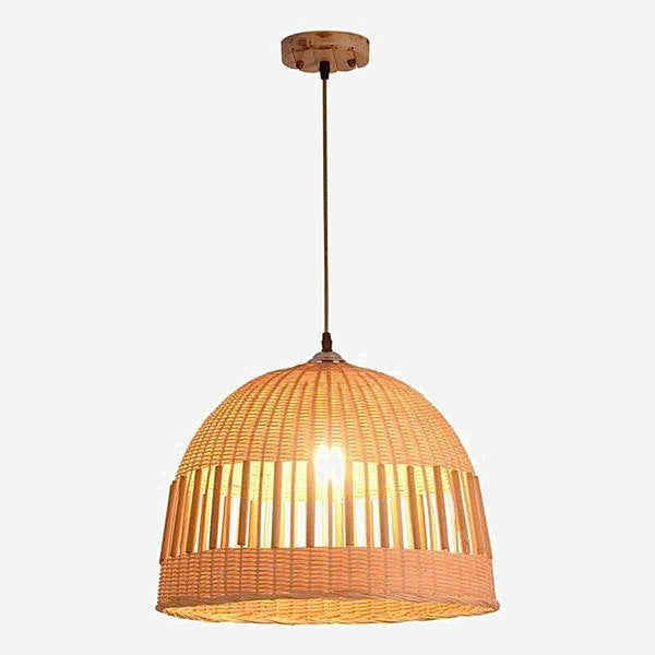 Bamboo Rattan Japanese Pendant Lamps Trend