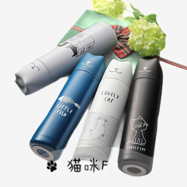 Cute Cat Vacuum Thermos Flask Trend