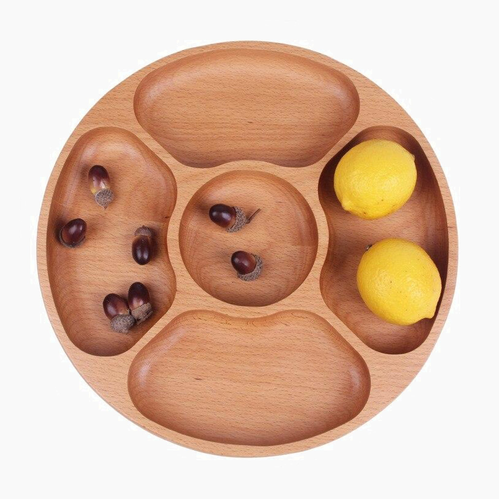 Wooden Chip and Dip Serving Fruit Snack Tray Food Snacks Nibbles Platter Trays Plate BBQ Outdoor Party Occasion Serveware Kitchen Home Restaurant Tool Trend