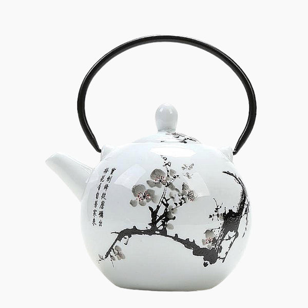 Japanese Cherry Blossom Ceramic Teapots Trend