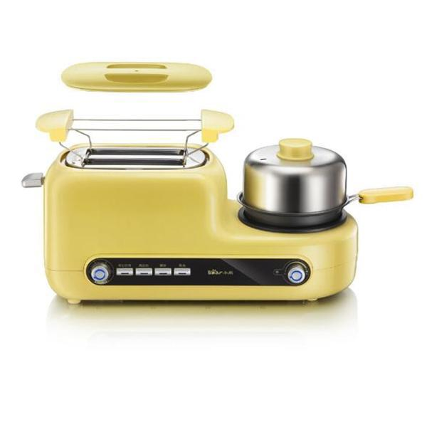 Japanese Yellow Multi-Functional Breakfast Machine Japan Egg Cooker Bacon Fryer Sandwich Toaster Kitchen Electrical Appliance Style E
