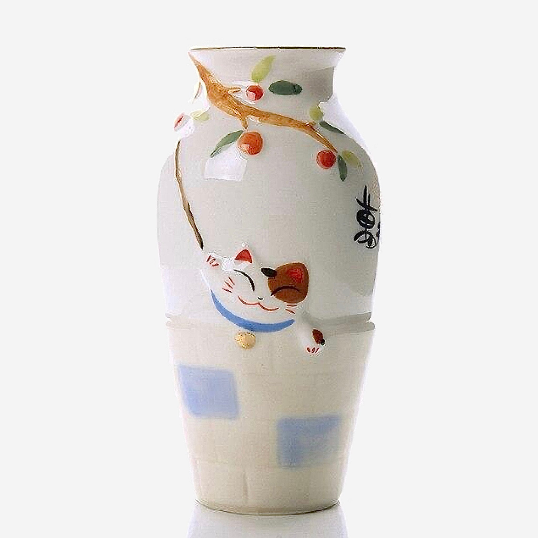 Lucky Cat Ceramic Origami Vase     Milky Flower Pot Flower Basket Plant Bonsai Modern Home Decor Vases Decoration Trend Lucky Cat Ceramic Origami Vase     Milky Flower Pot Flower Basket Plant Bonsai Modern Home Decor Vases Decoration Trend