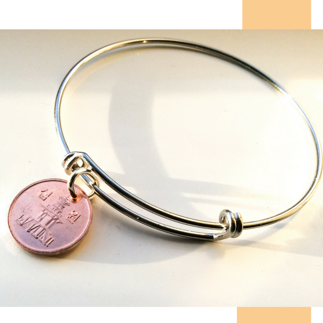 South Korean Ten Won Bangle