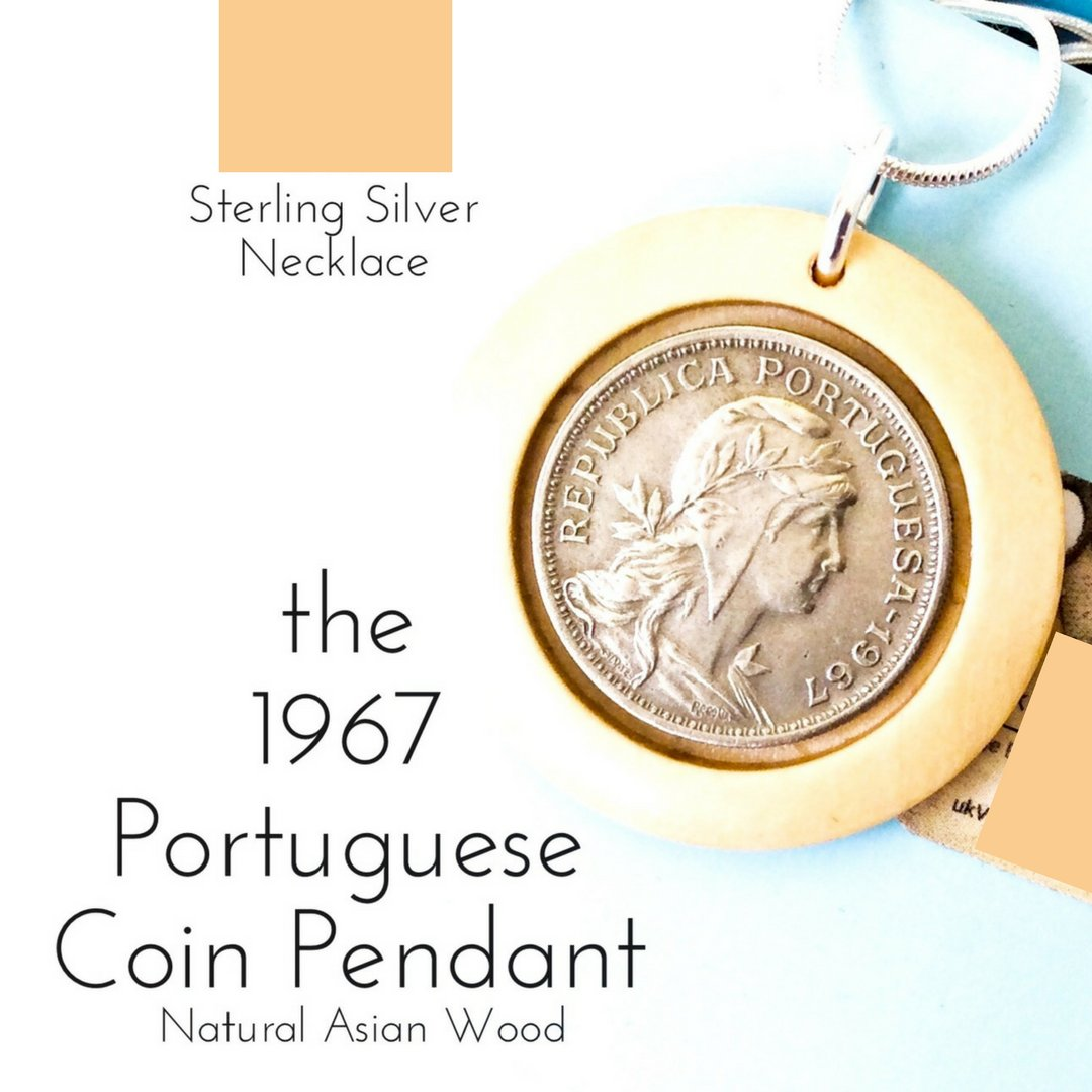 1967 Portuguese Coin Pendant Necklace - 未定義 miTeigi