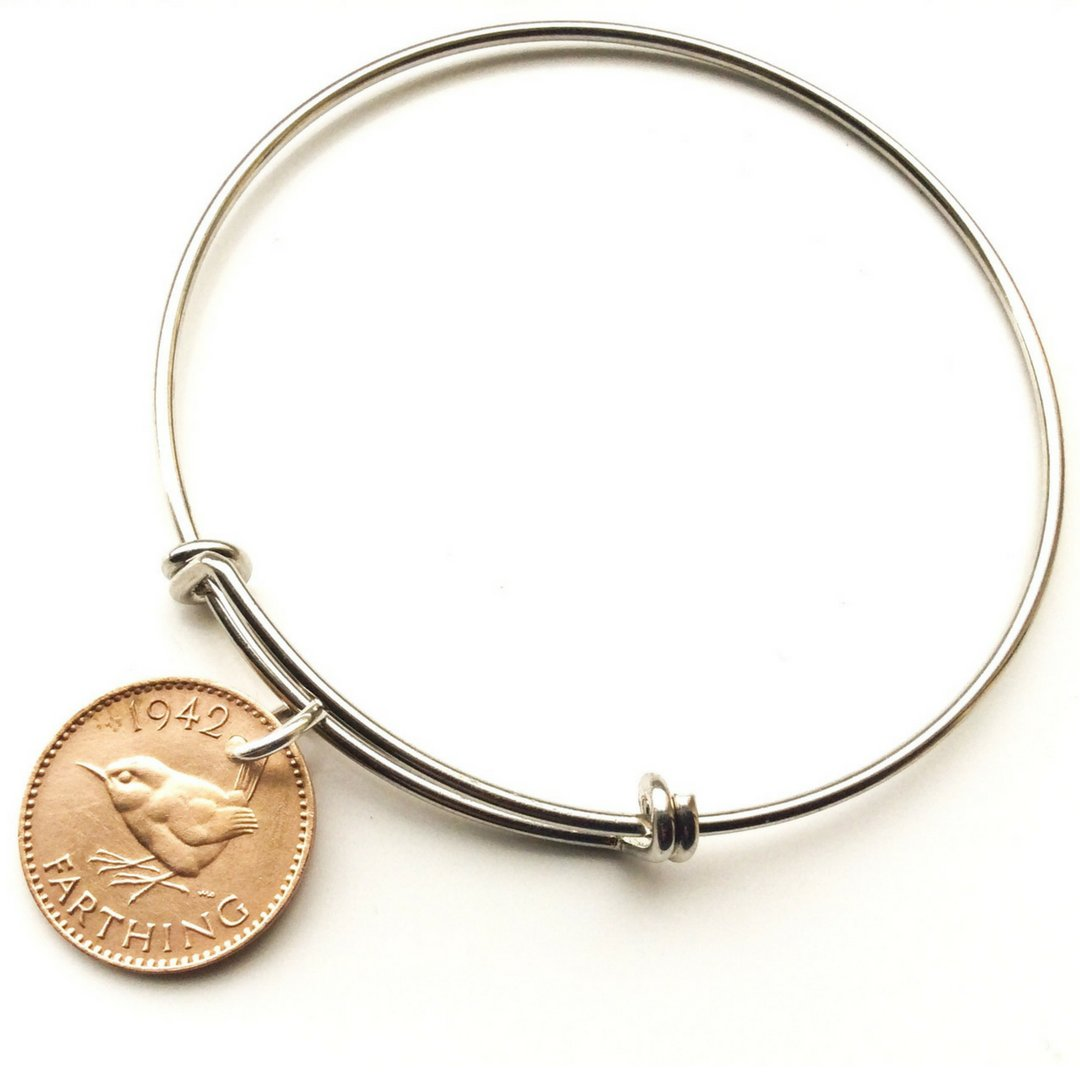 Penny Farthing British Coin Bangle - 未定義 miTeigi
