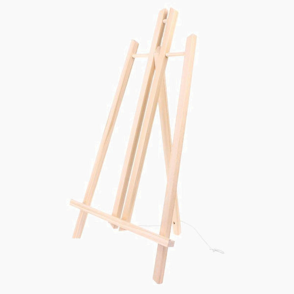 50cm Wooden Easel Craft Artist Studio Painting Stand Advertisement Exhibition Display Wood Shelf Holder Trend