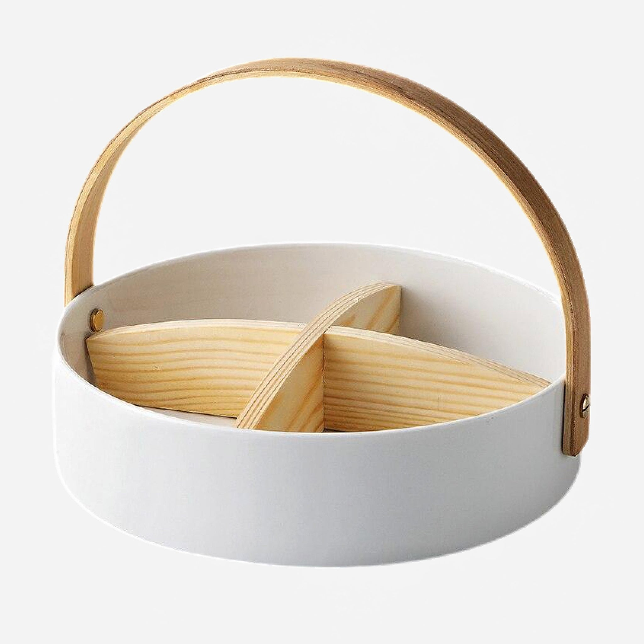 Japanese Ceramic Food Basket Trend