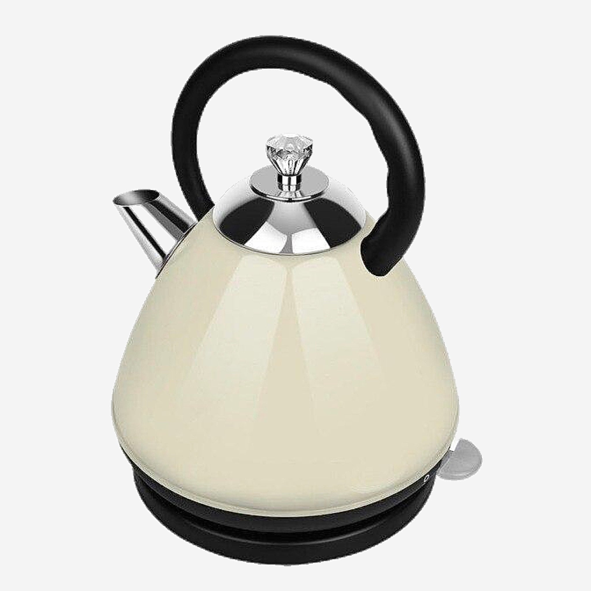 White Stainless Steel Electric Kettle Automatic power supply 2L capacity Household Kitchen Appliance Trending Style