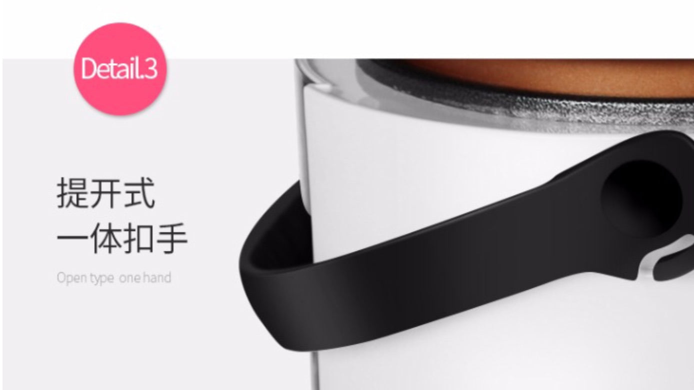 Multifunctional Pink 2L Mini Rice Cooker Smart Soup Maker Fried Pan Steamer Yoice Home Kitchen Electrical Appliance Style V