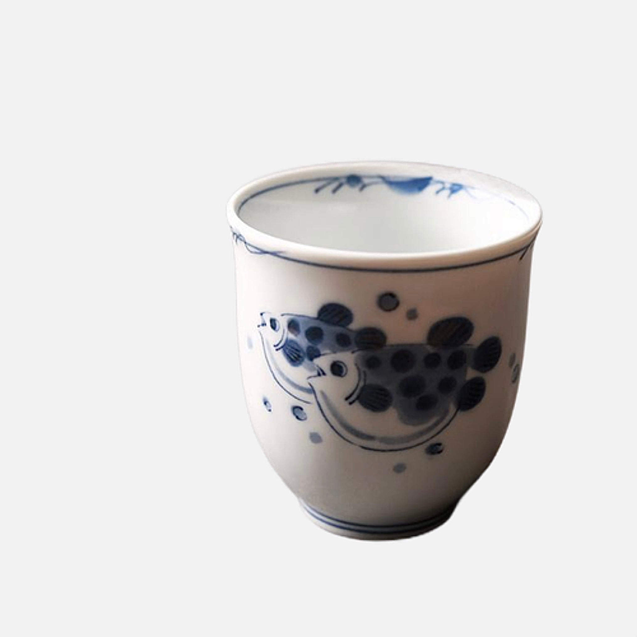 Japanese Fish Ceramic Sake Cup Trend