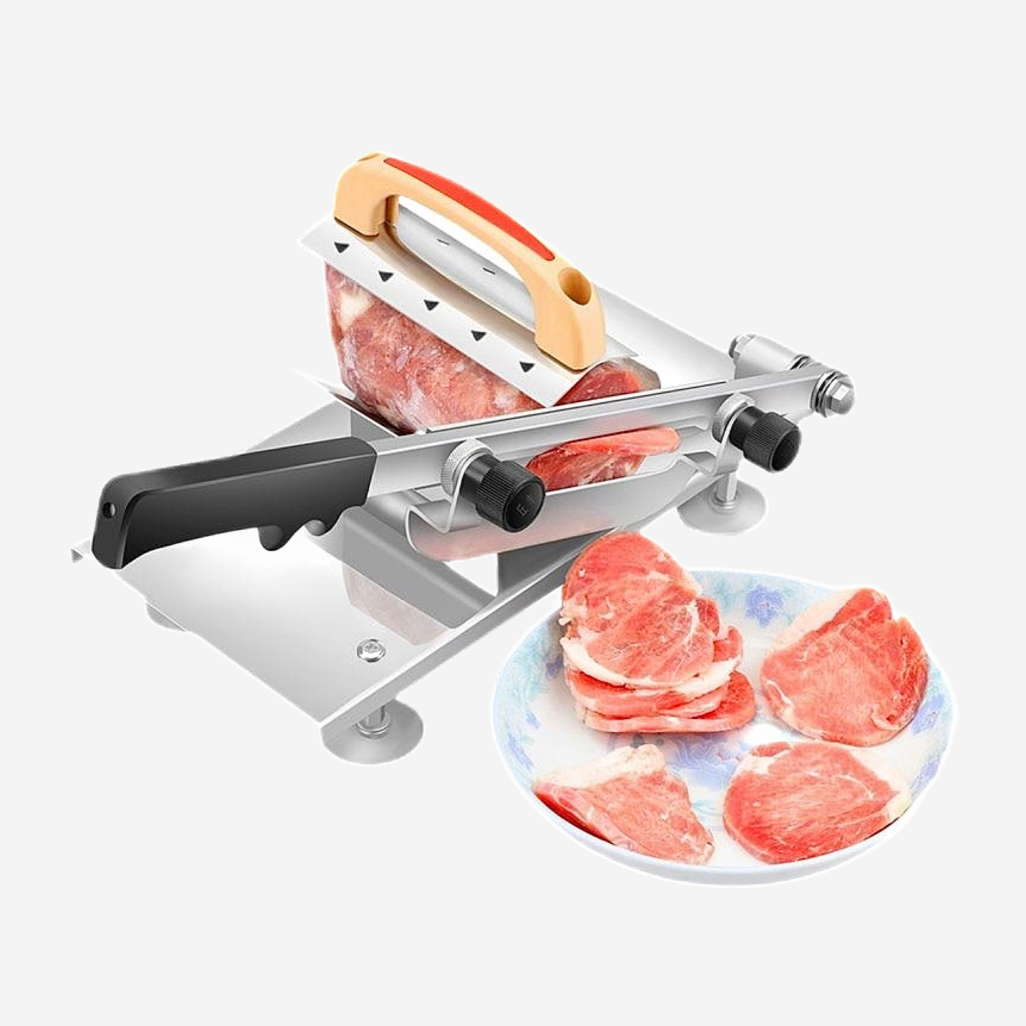 Multi Function Meat Slicer Manual Adjustable Thickness Meat Mutton Beef Cutter Slicing Machine Kitchen Tool Trend