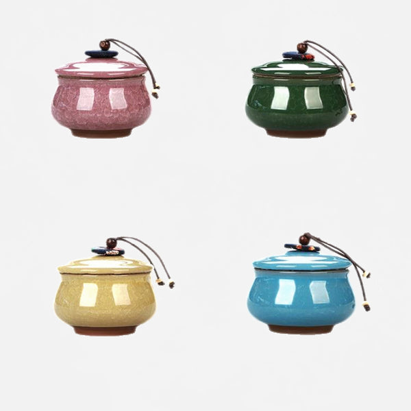 Japanese Ceramic Jars with Lid Trend