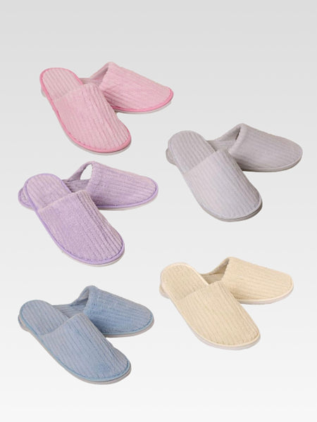 Disposable Slippers 5-Pair       Home guest travel spa hotel slippers Trend