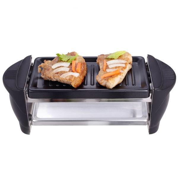 Double Layer Smokeless Japanese Takoyaki Machine Octopus Ball Electric BBQ Grill Pan Home Kitchen Electrical Appliance Japan Style D