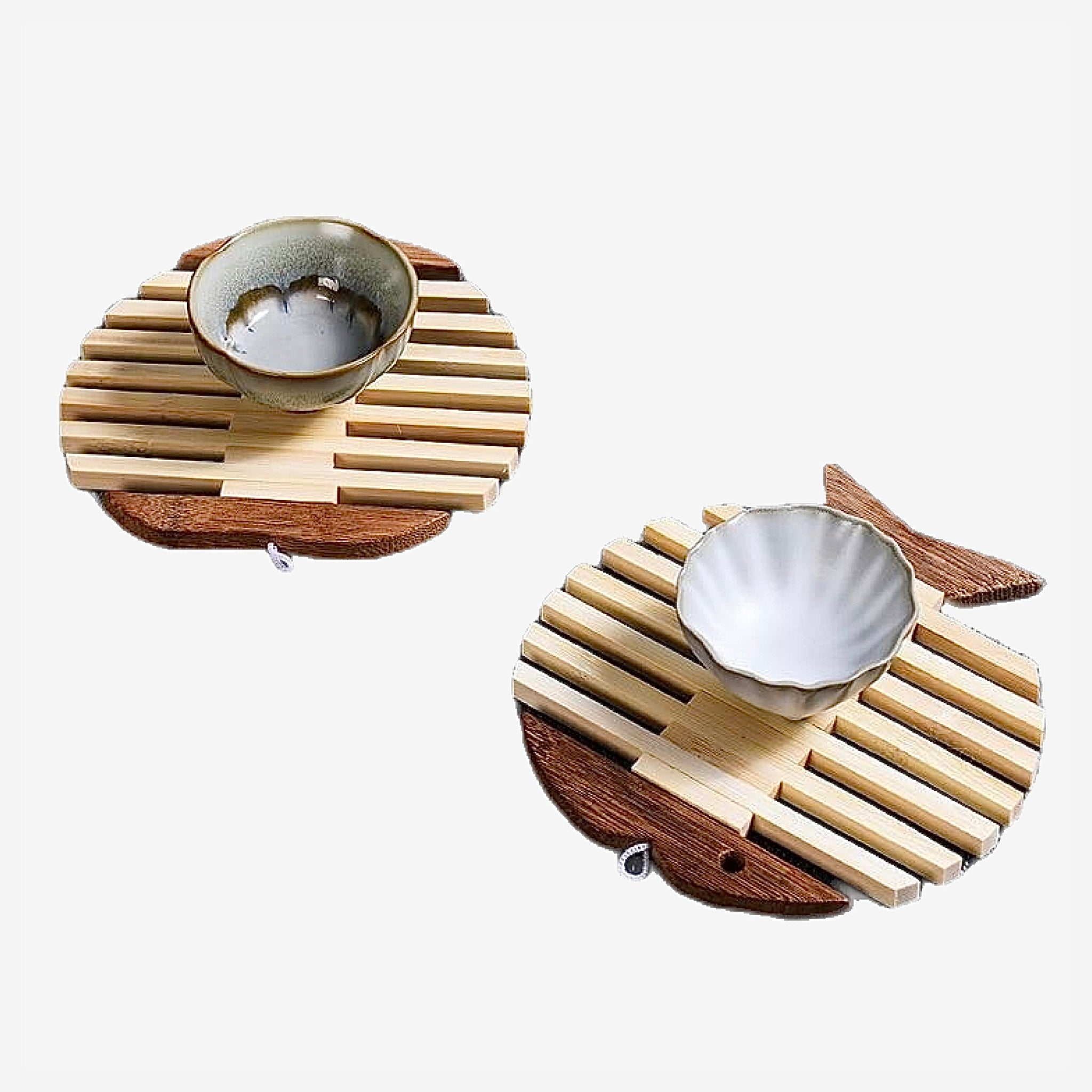 Japanese Wooden Bamboo Table Mat Trend