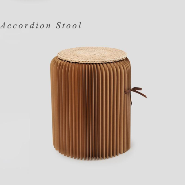 Foldable Kraft Paper Stool