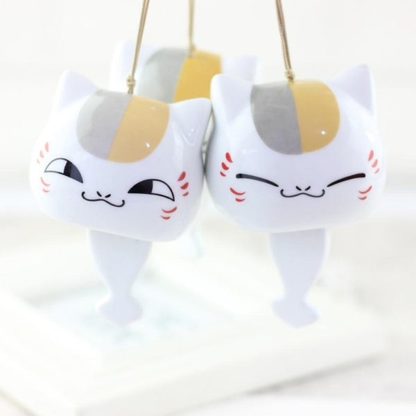 Japanese Wind Chimes Animal Cat Windchimes Figurine Ceramic Japan Home Decoration Hanging Car Ornament Lucky Crafts Trendy
