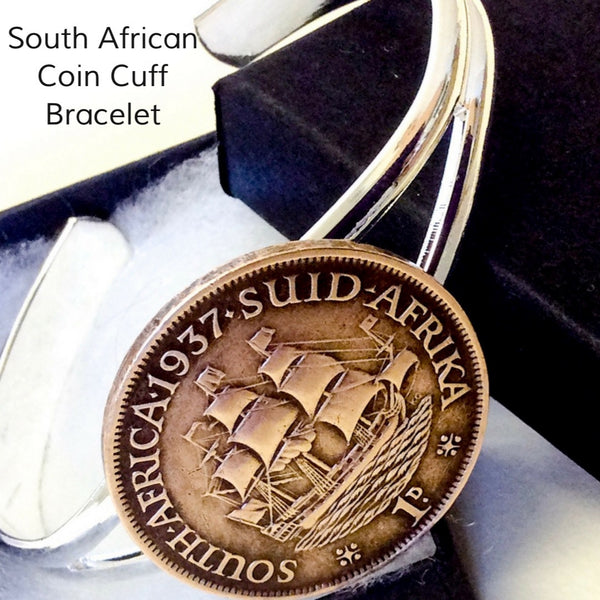 South African Coin Bracelet Choose your year