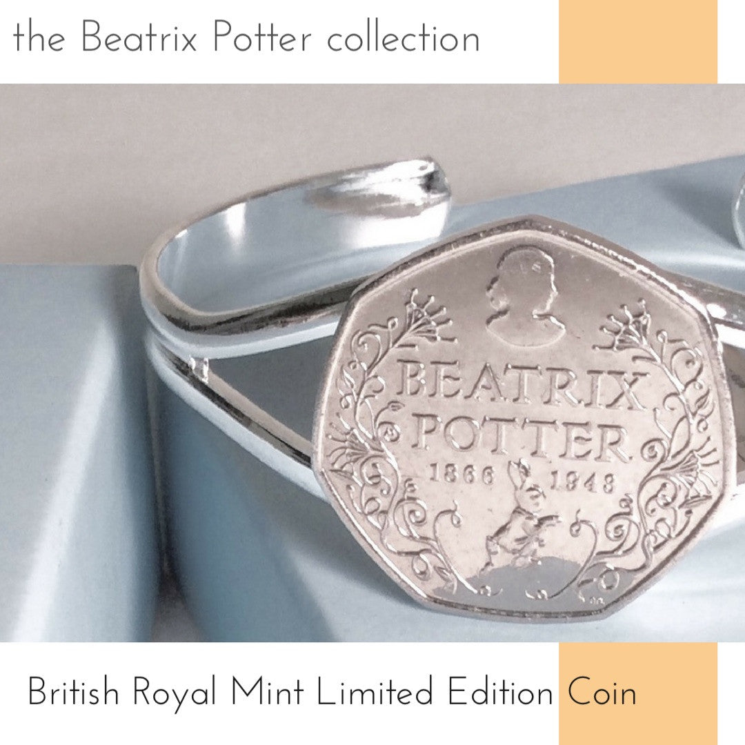 2016 beatrix potter commemorative coin bracelet limited edition