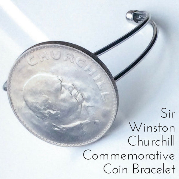 the Sir Winston Churchill Commemorative British Coin Bracelet Limited Edition