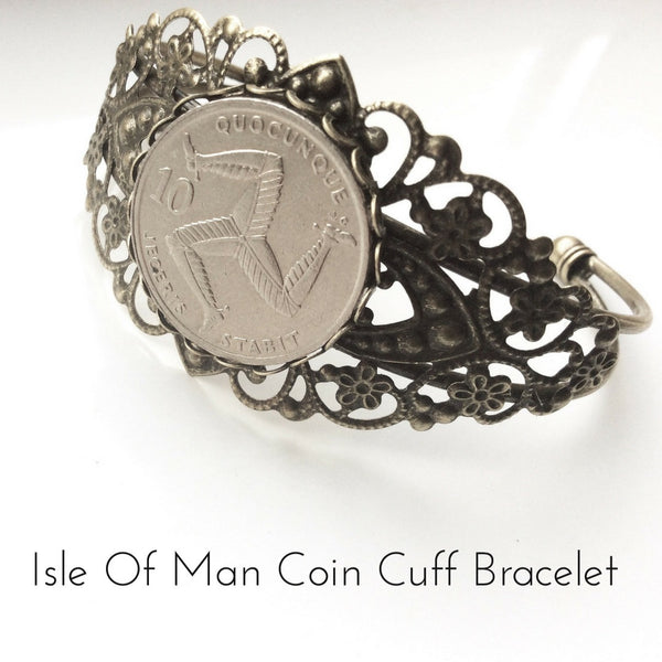 Isle Of Man Coin Bracelet