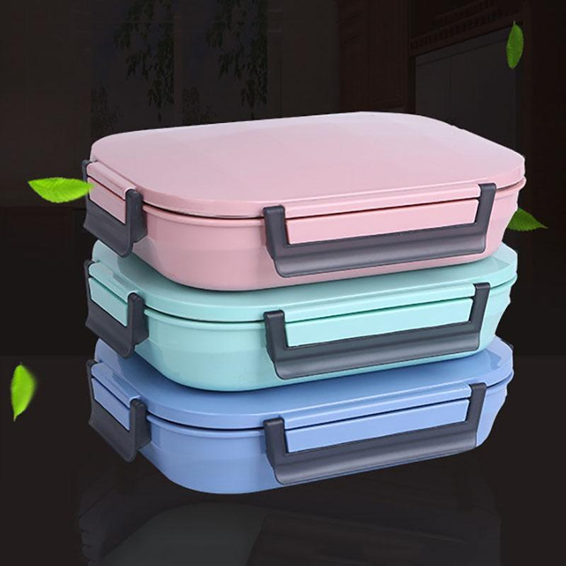 304 Stainless Steel Japanese Bento Lunch Box Bag Set Leakproof Japan Bento Box Food Container Thermal Lunchbox