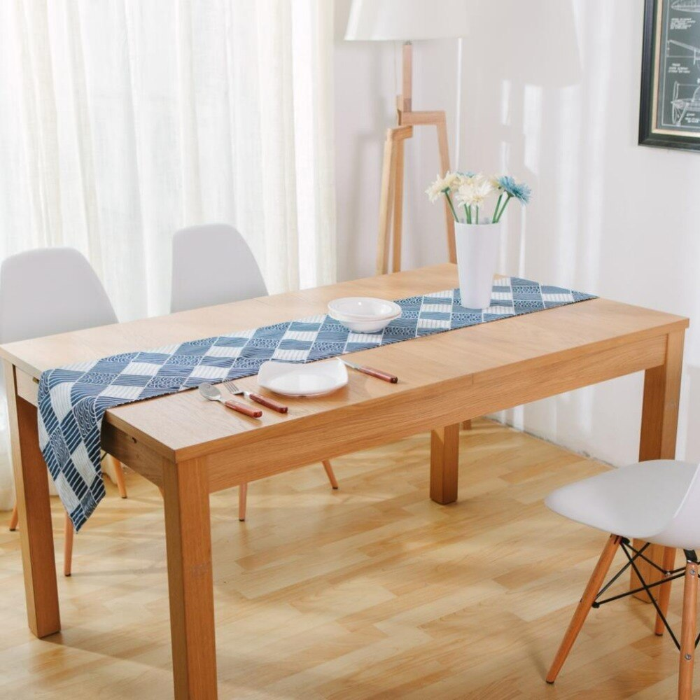 Trend Japanese Zakka Spray Cotton linen Table Runner Japan Dining Room Linen Home Decor Accessories