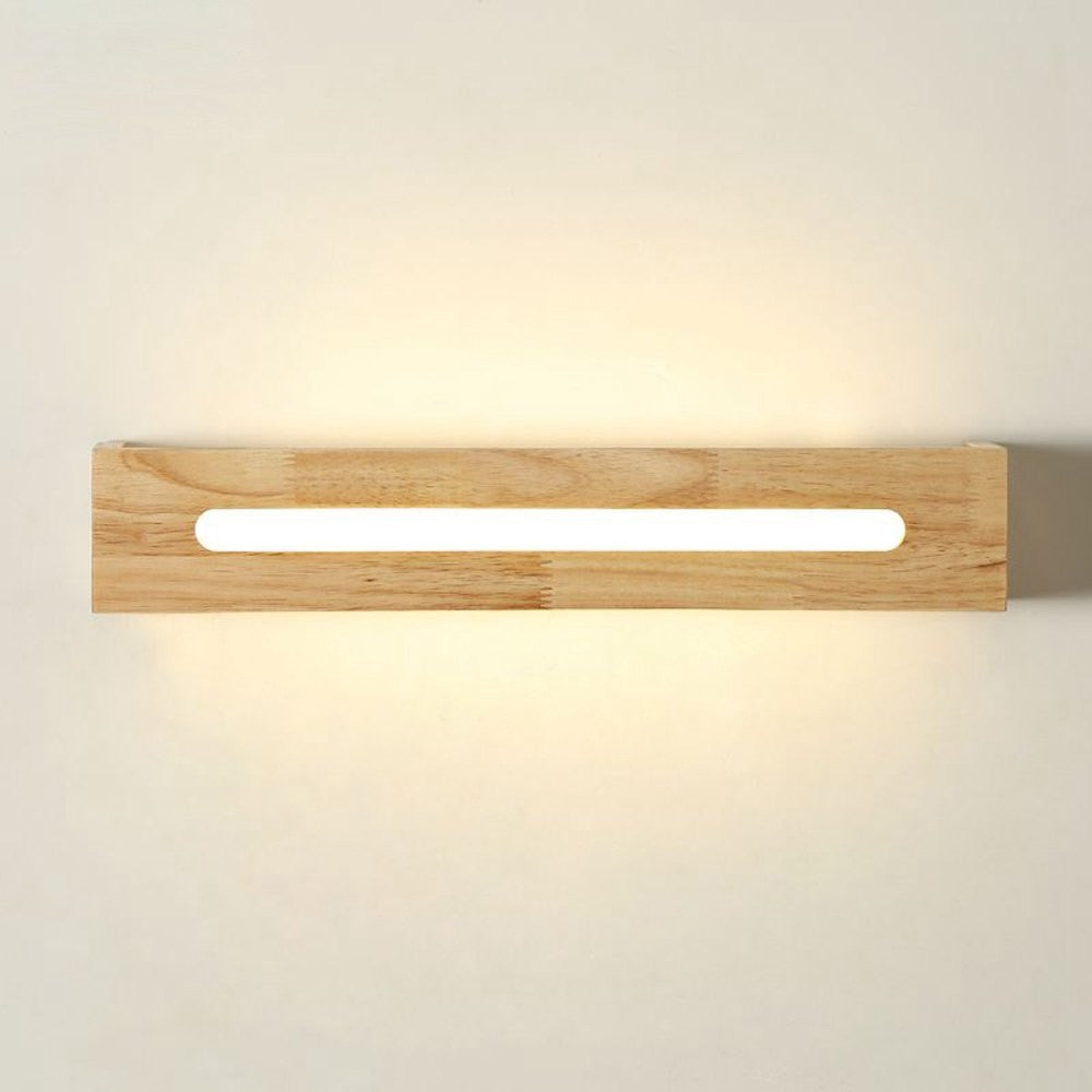 Japanese Contemporary Wooden Wall Lamp Japan Home Decor Lighting