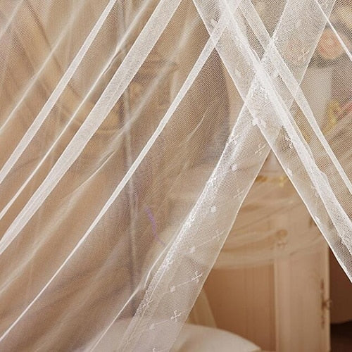 Lace Canopy Mosquito Net