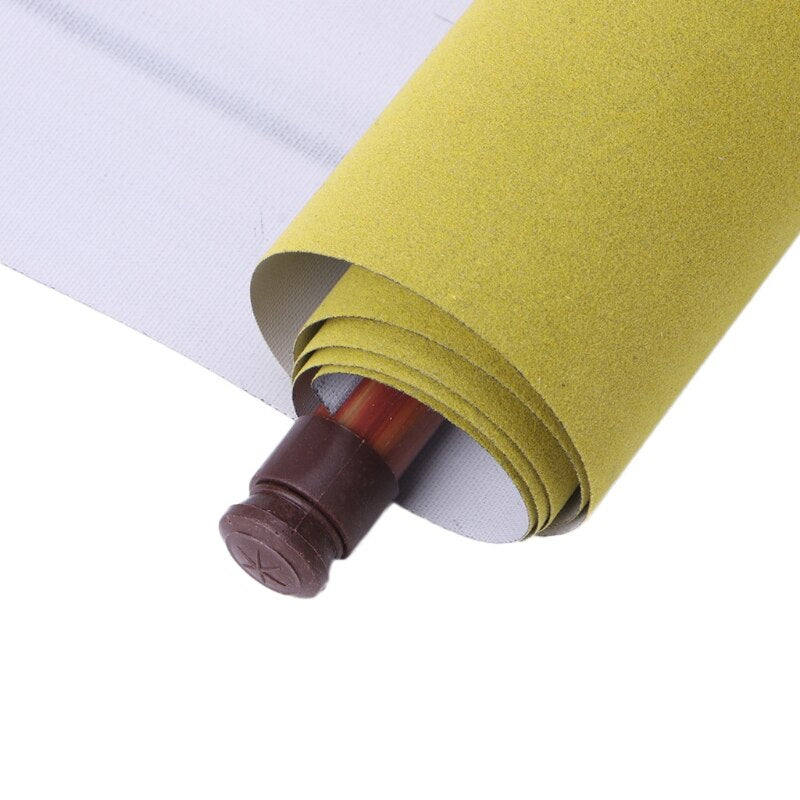 Reusable 1.5m Chinese Magic Scroll Cloth Water Paper Calligraphy Fabric Craft Book Notebook Detail