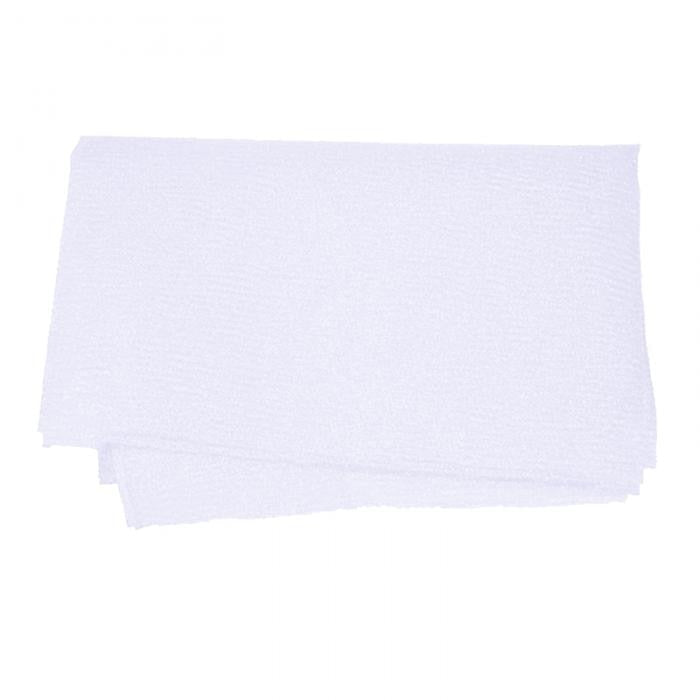 Trending White Nylon Wash Cloth Body Scrub Bath Towel Beauty Body Skin Exfoliating Shower Bathroom Washing Bath Accessories
