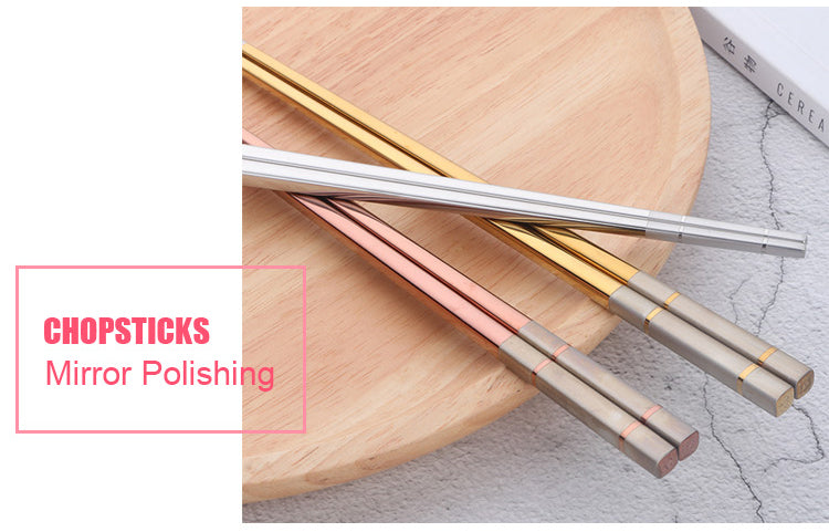 5 Pair Chopsticks Set With Gift Box